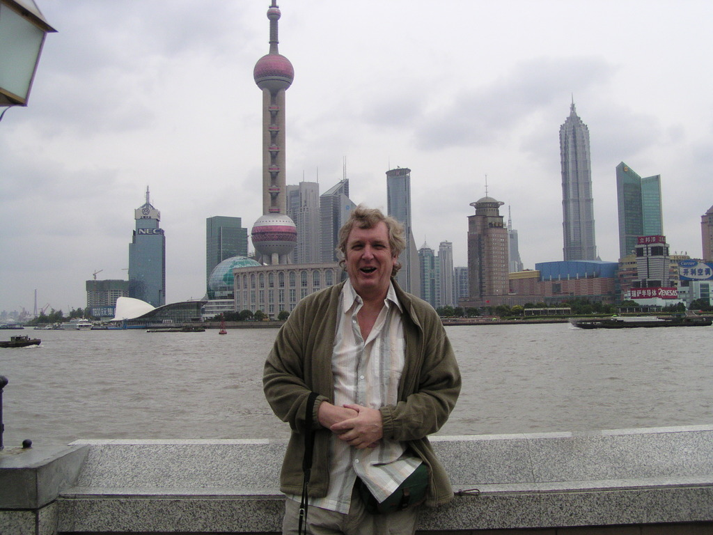 Alan and the Oriental Pearl tower